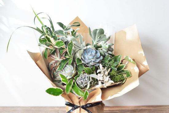以陪伴為名植物為禮,2021 七夕情人節「植束」予你 2021 七夕情人節花束 多肉植物花束2