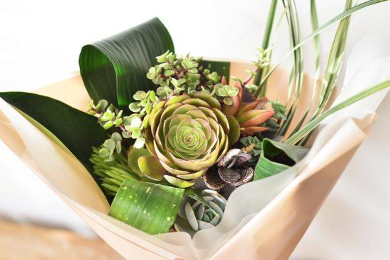 以陪伴為名植物為禮,2021 七夕情人節「植束」予你 2021 七夕情人節花束 多肉植物花束3 1